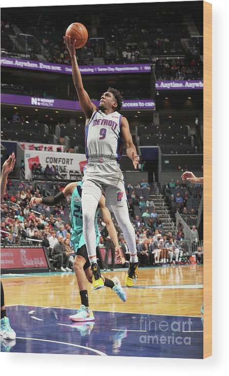 Nba Pro Basketball Wood Print featuring the photograph Langston Galloway by Kent Smith