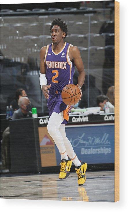 Nba Pro Basketball Wood Print featuring the photograph Langston Galloway by Melissa Majchrzak