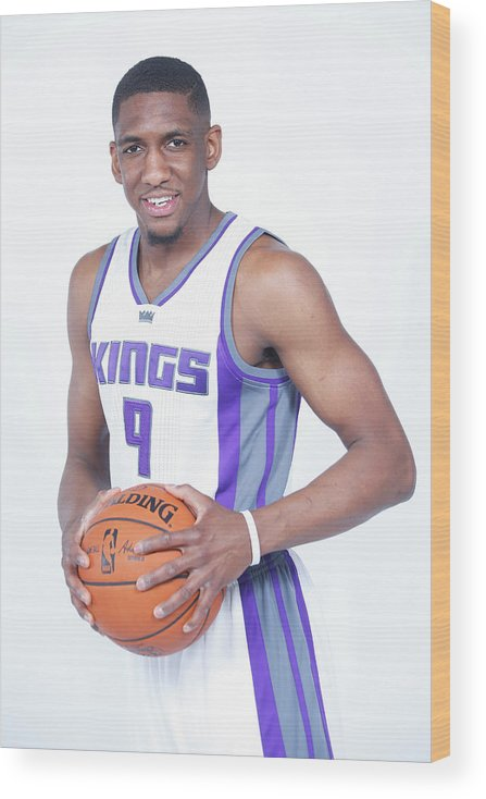 Nba Pro Basketball Wood Print featuring the photograph Langston Galloway by Rocky Widner