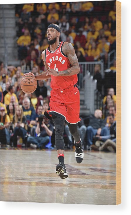 Playoffs Wood Print featuring the photograph Lorenzo Brown by David Liam Kyle