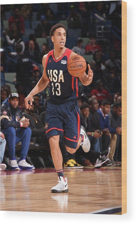 Event Wood Print featuring the photograph Malcolm Brogdon by Andrew D. Bernstein
