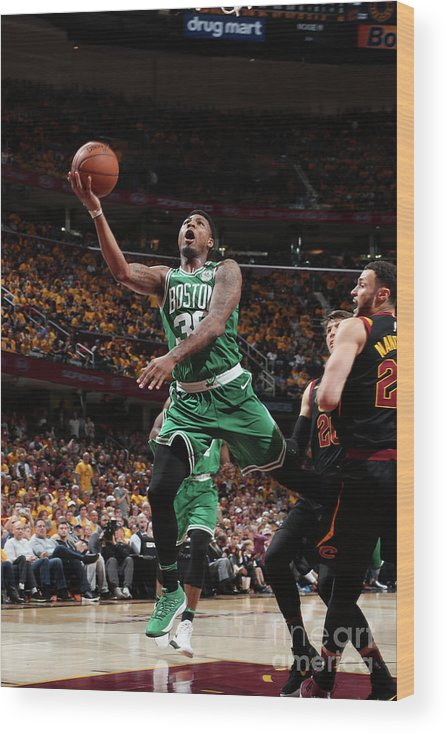 Playoffs Wood Print featuring the photograph Marcus Smart by Nathaniel S. Butler