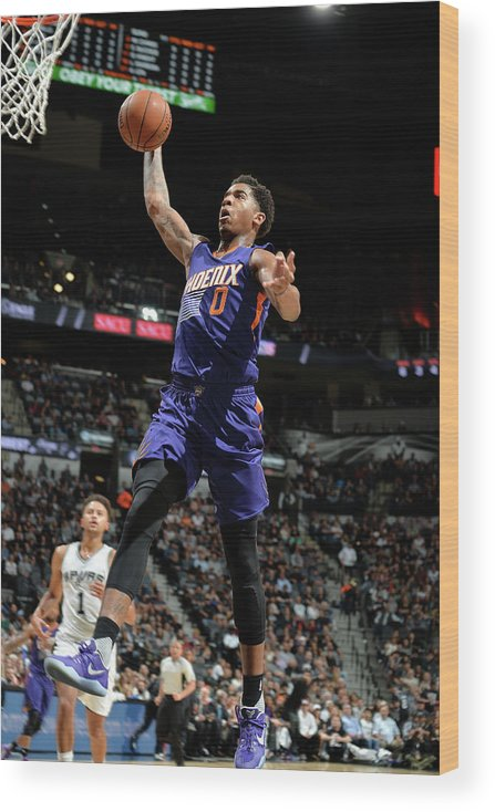 Nba Pro Basketball Wood Print featuring the photograph Marquese Chriss by Mark Sobhani