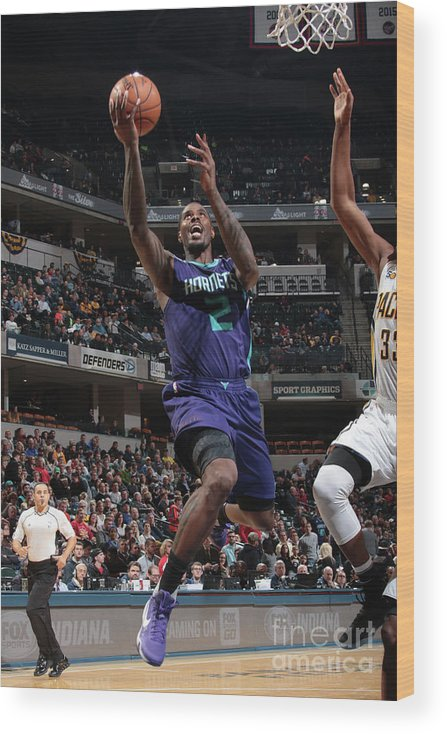 Nba Pro Basketball Wood Print featuring the photograph Marvin Williams by Ron Hoskins