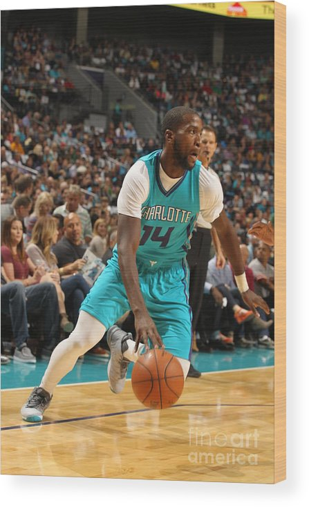Sport Wood Print featuring the photograph Michael Kidd-gilchrist by Brock Williams-smith