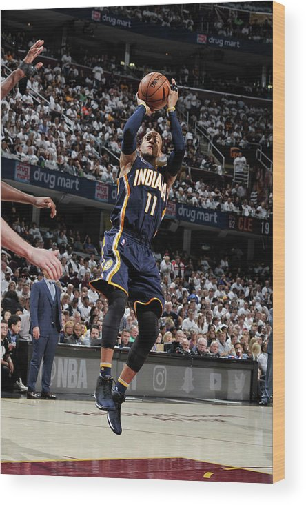 Playoffs Wood Print featuring the photograph Monta Ellis by David Liam Kyle