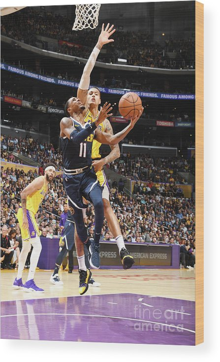 Nba Pro Basketball Wood Print featuring the photograph Monte Morris by Andrew D. Bernstein