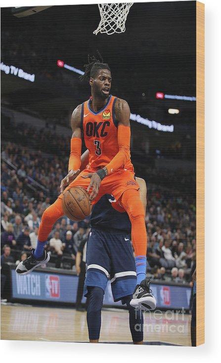 Nba Pro Basketball Wood Print featuring the photograph Nerlens Noel by Jordan Johnson