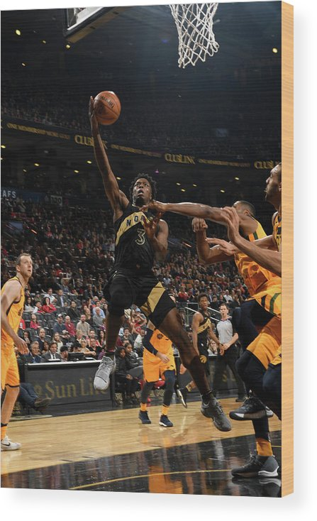 Nba Pro Basketball Wood Print featuring the photograph Og Anunoby by Ron Turenne