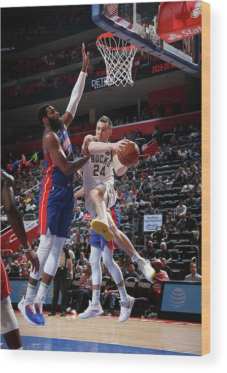 Playoffs Wood Print featuring the photograph Pat Connaughton by Brian Sevald