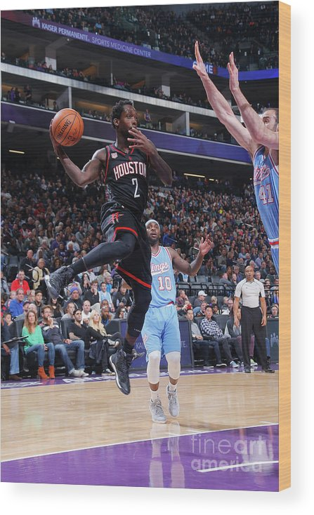 Nba Pro Basketball Wood Print featuring the photograph Patrick Beverley by Rocky Widner