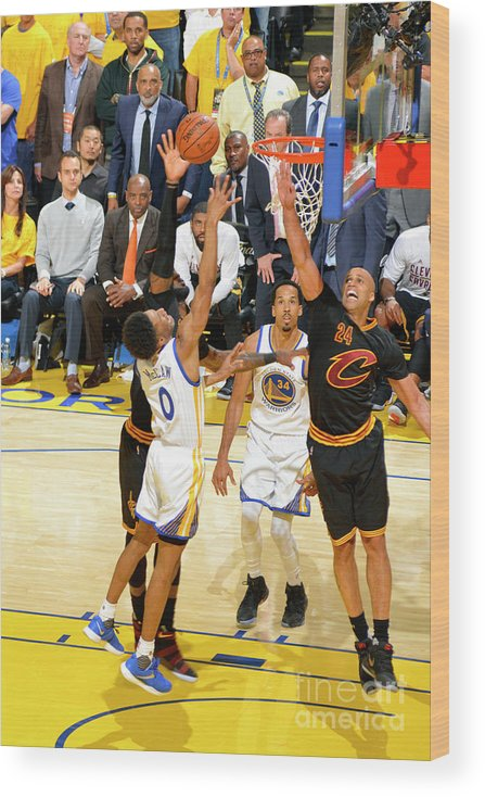 Playoffs Wood Print featuring the photograph Patrick Mccaw by Jesse D. Garrabrant