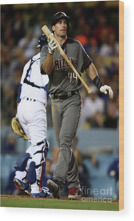 People Wood Print featuring the photograph Paul Goldschmidt by Sean M. Haffey