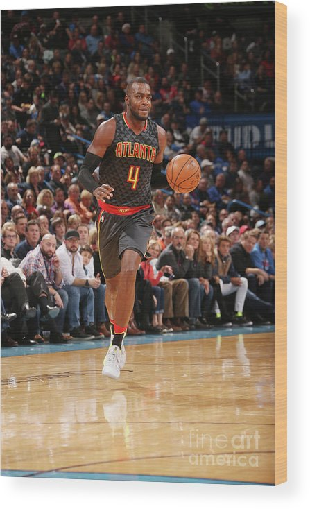Nba Pro Basketball Wood Print featuring the photograph Paul Millsap by Layne Murdoch