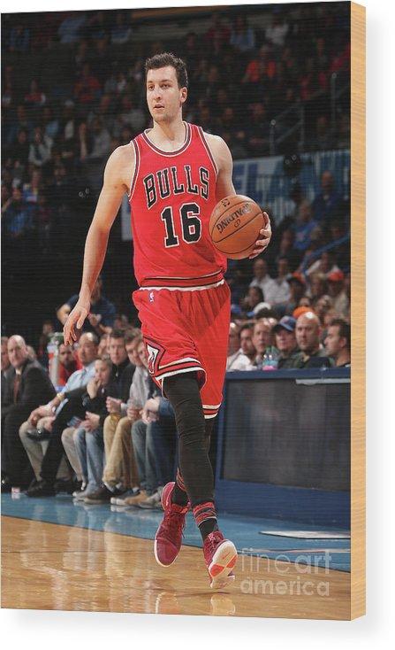 Nba Pro Basketball Wood Print featuring the photograph Paul Zipser by Layne Murdoch