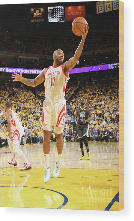 Playoffs Wood Print featuring the photograph P.j. Tucker by Andrew D. Bernstein
