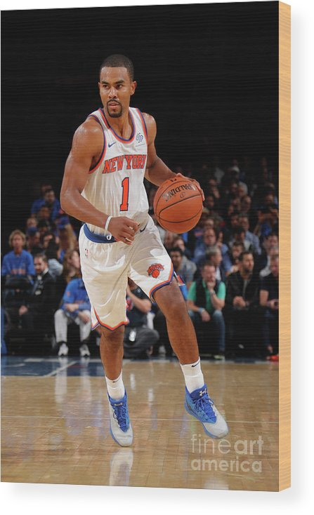 Nba Pro Basketball Wood Print featuring the photograph Ramon Sessions by Nathaniel S. Butler