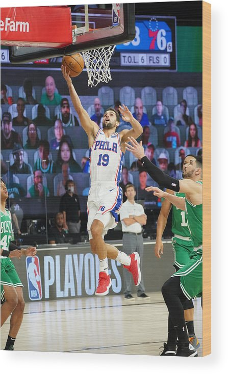Playoffs Wood Print featuring the photograph Raul Neto by Jesse D. Garrabrant