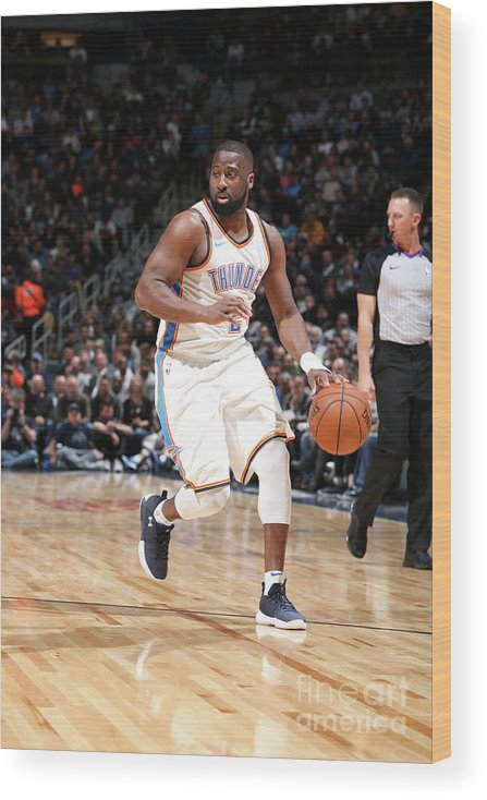 Nba Pro Basketball Wood Print featuring the photograph Raymond Felton by David Sherman