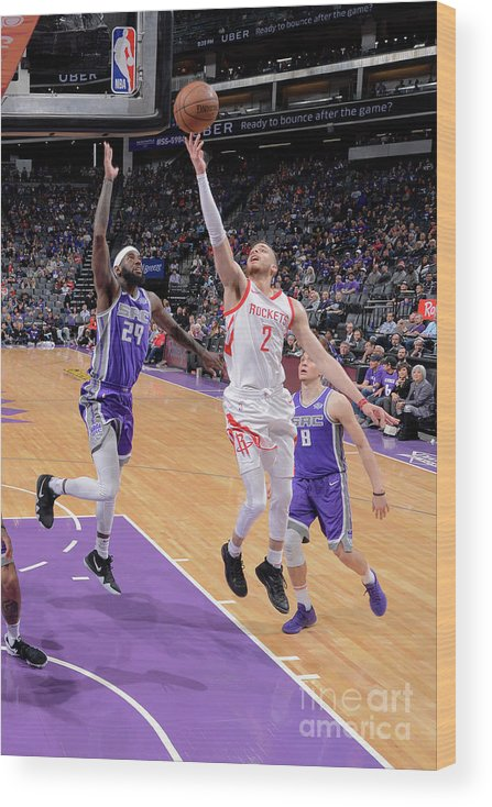 Nba Pro Basketball Wood Print featuring the photograph R.j. Hunter by Rocky Widner