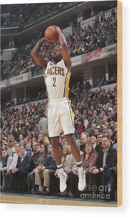 Nba Pro Basketball Wood Print featuring the photograph Rodney Stuckey by Ron Hoskins