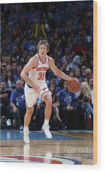 Nba Pro Basketball Wood Print featuring the photograph Ron Baker by Layne Murdoch