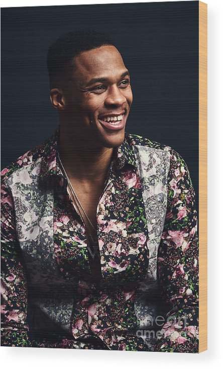 Event Wood Print featuring the photograph Russell Westbrook by Jennifer Pottheiser