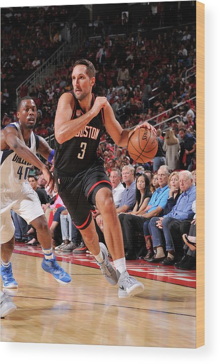 Nba Pro Basketball Wood Print featuring the photograph Ryan Anderson by Bill Baptist