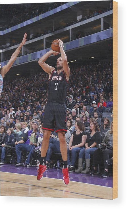 Nba Pro Basketball Wood Print featuring the photograph Ryan Anderson by Rocky Widner