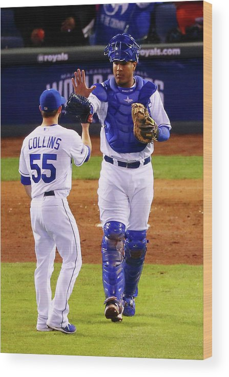Salvador Perez Diaz Wood Print featuring the photograph Salvador Perez by Dilip Vishwanat