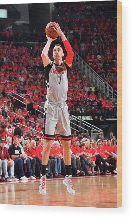 Playoffs Wood Print featuring the photograph Sam Dekker by Jesse D. Garrabrant