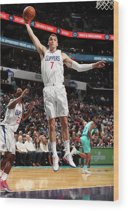 Nba Pro Basketball Wood Print featuring the photograph Sam Dekker by Kent Smith