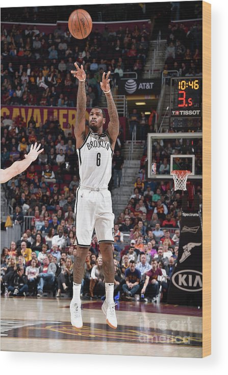 Nba Pro Basketball Wood Print featuring the photograph Sean Kilpatrick by David Liam Kyle