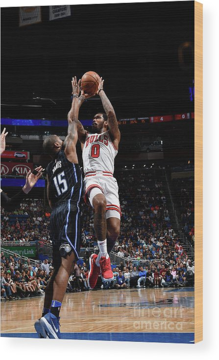 Nba Pro Basketball Wood Print featuring the photograph Sean Kilpatrick by Fernando Medina
