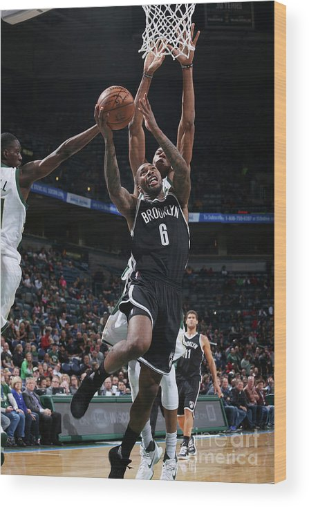 Nba Pro Basketball Wood Print featuring the photograph Sean Kilpatrick by Gary Dineen