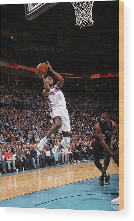 Nba Pro Basketball Wood Print featuring the photograph Semaj Christon by Layne Murdoch