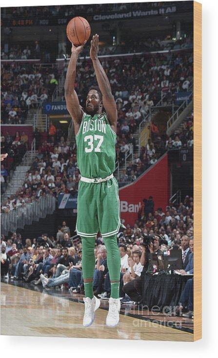 Nba Pro Basketball Wood Print featuring the photograph Semi Ojeleye by David Liam Kyle