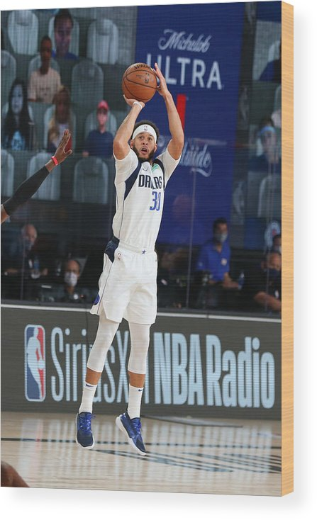 Playoffs Wood Print featuring the photograph Seth Curry by David Sherman