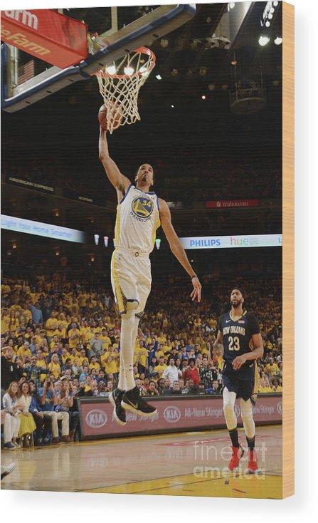 Playoffs Wood Print featuring the photograph Shaun Livingston by Noah Graham