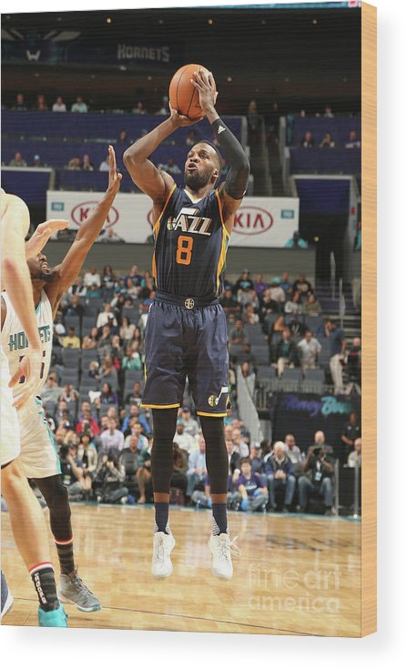 Nba Pro Basketball Wood Print featuring the photograph Shelvin Mack by Kent Smith