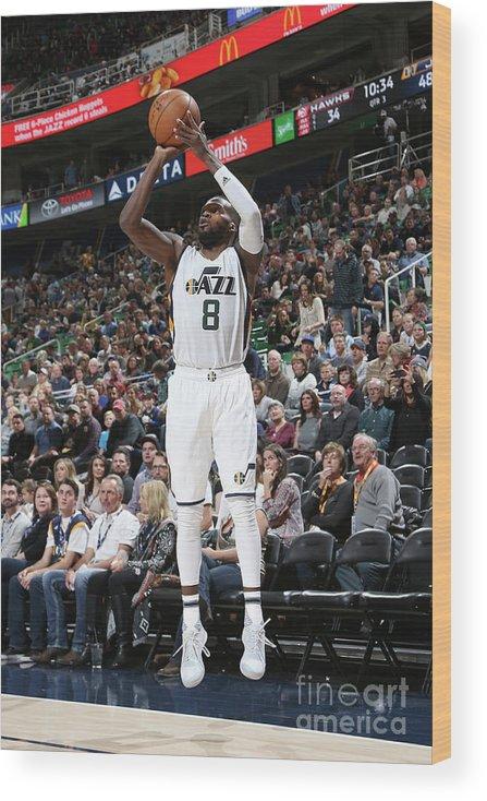 Nba Pro Basketball Wood Print featuring the photograph Shelvin Mack by Melissa Majchrzak