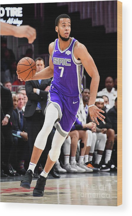 Atlanta Wood Print featuring the photograph Skal Labissiere by Scott Cunningham
