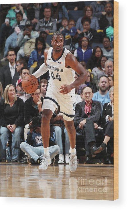Nba Pro Basketball Wood Print featuring the photograph Solomon Hill by Joe Murphy