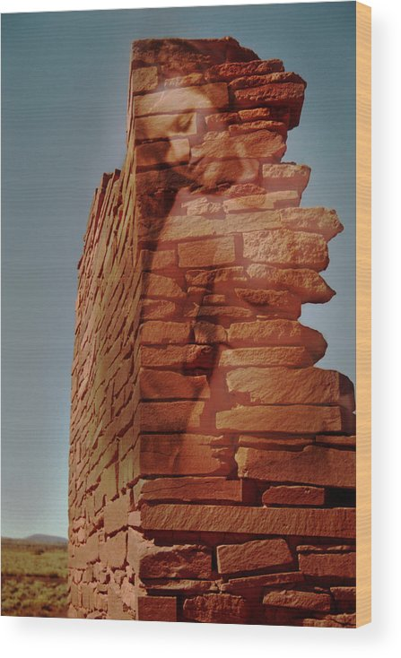 Indian Ruins Wood Print featuring the photograph Spirit Of Wupatki by Richard Henne
