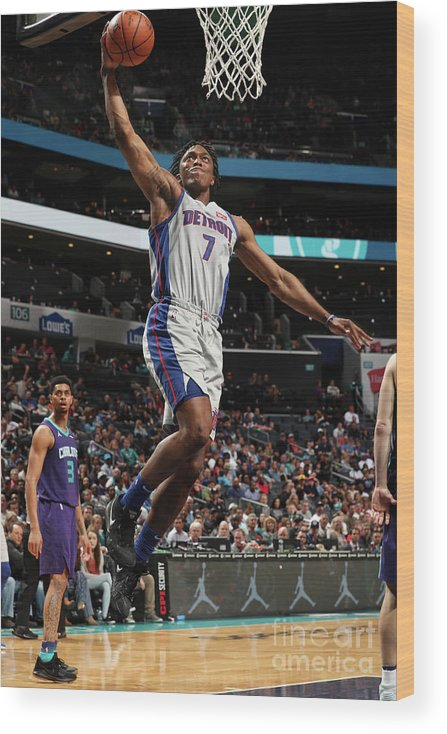 Nba Pro Basketball Wood Print featuring the photograph Stanley Johnson by Kent Smith