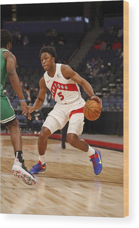 Nba Pro Basketball Wood Print featuring the photograph Stanley Johnson by Scott Audette