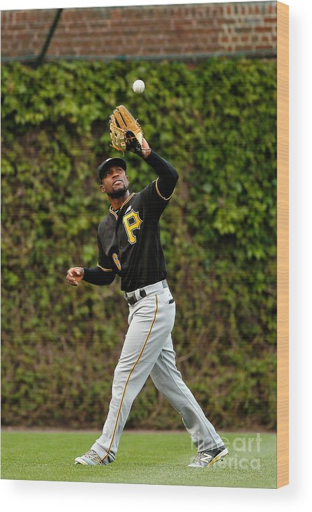 Second Inning Wood Print featuring the photograph Starling Marte by Jon Durr