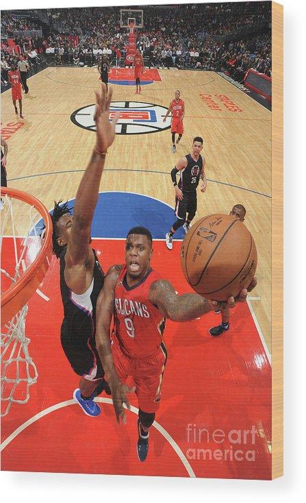 Nba Pro Basketball Wood Print featuring the photograph Terrence Jones by Adam Pantozzi