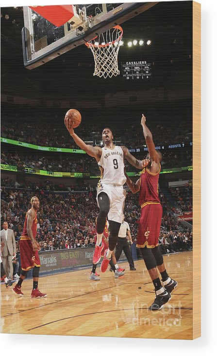 Smoothie King Center Wood Print featuring the photograph Terrence Jones by Layne Murdoch