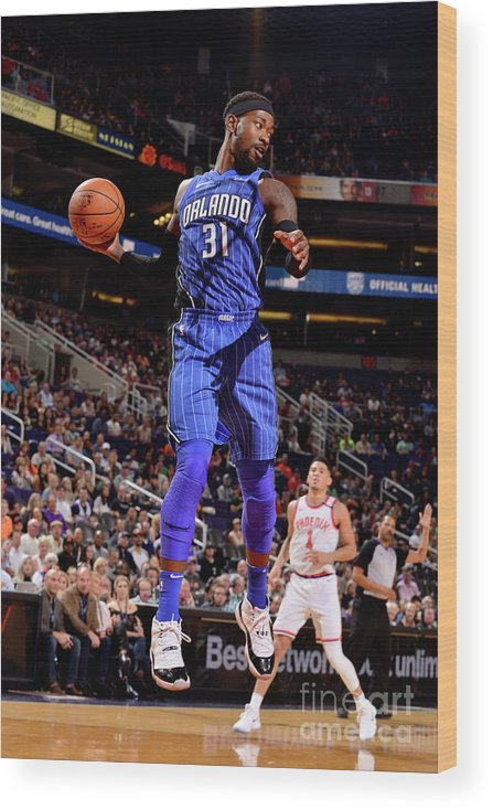 Nba Pro Basketball Wood Print featuring the photograph Terrence Ross by Barry Gossage